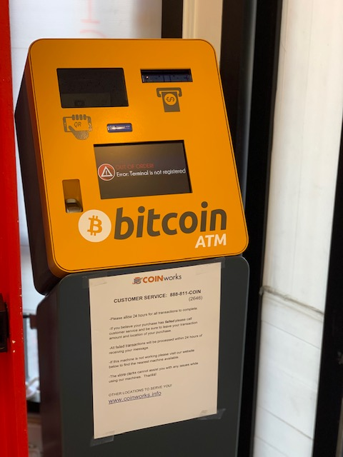 Bitcoin ATM machine San Francisco